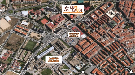 University Of Salamanca Map